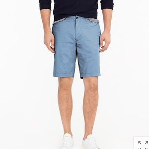 "J. Crew Factory 9"" Gramercy Shorts In Blue SZ 31"